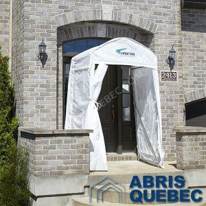 Toiles de remplacement Abri Vestibule Harnois   Abri pour porte d'entrée