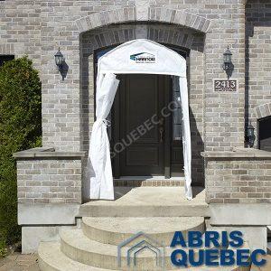 Abri Vestibule Harnois   Abri pour porte d'entrée