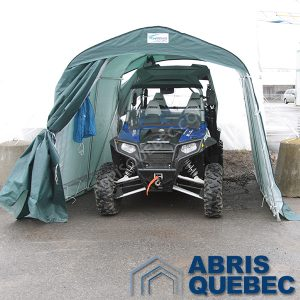 Abri XR 810 Harnois | Abri versatile, idéal pour poubelles, pelles, souffleuse ou rangement hivernal