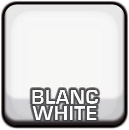 Toile pour abri d'auto blanche en polyéthylène | Abris Québec